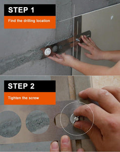 Stainless Steel Tile Drilling Locator