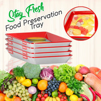 Stay Fresh Food Preservation Tray