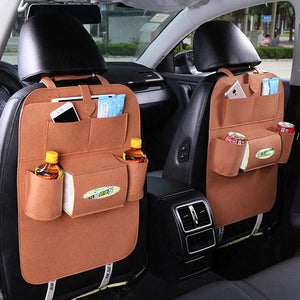 Universal Vehicle Back Seat Storage Organizer