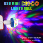 USB Mini Disco Lights Ball