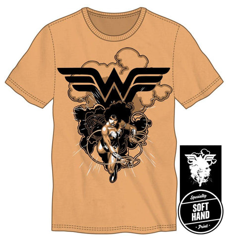 DC Comics Wonder Woman Lasso of Truth Soft Men's Orange T-Shirt