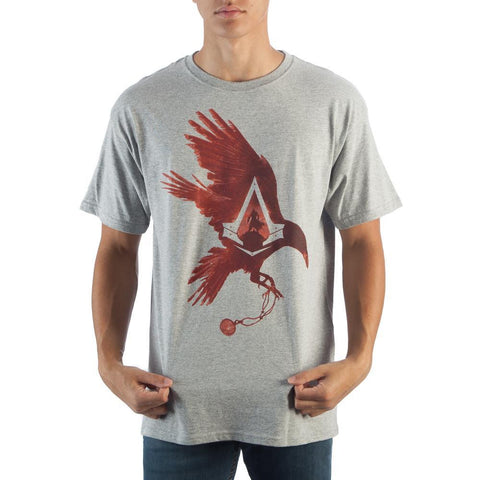 Assassin's Creed Bird Heather Grey Men's T-Shirt