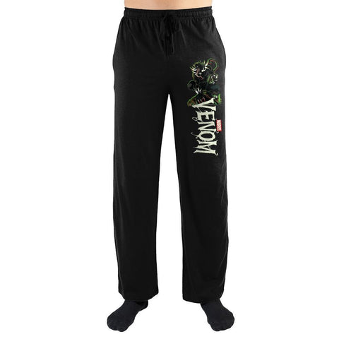 Venom x Black Panther Marvel Men's Loungewear Pants