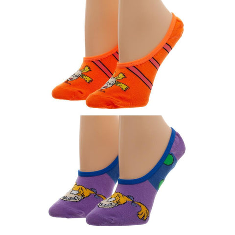 2-Pack Rugrats Socks No Show Cynthia and Angelica Socks