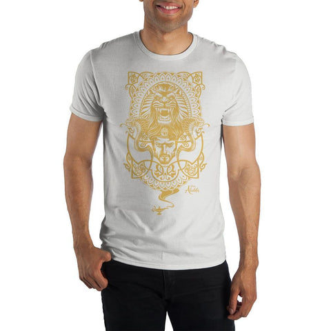 Disney Aladdin Jafar Magic Lamp Short-Sleeve T-shirt