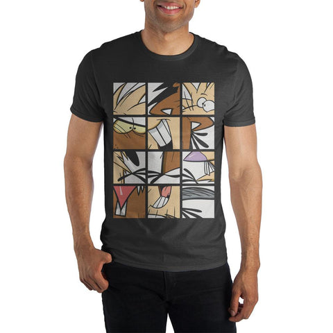 Nickelodeon Dag and Norb Panel Art T-Shirt