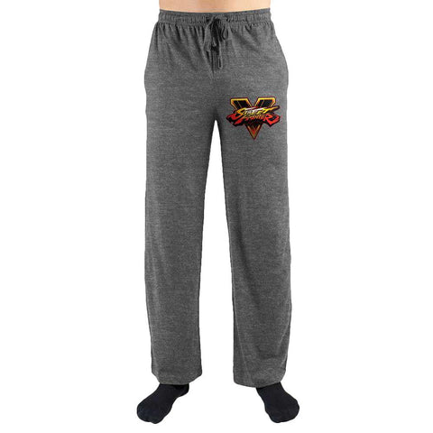 Street Fighter Logo Print Men's Lounge Pants