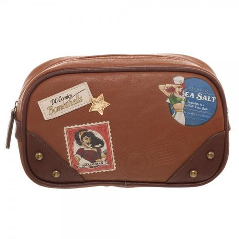DC Comics Wonder Woman Bombshell Makeup Bag