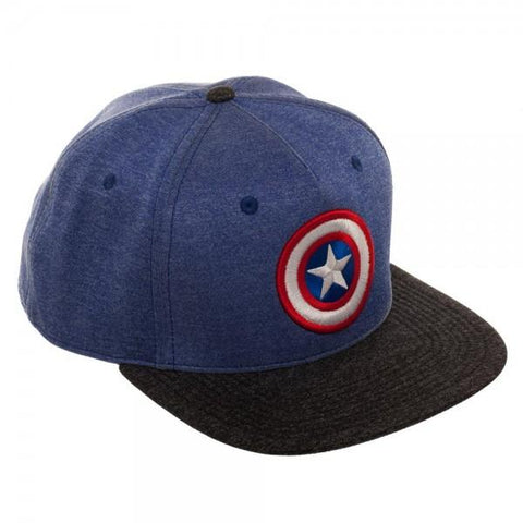 Captain America Two Tone Snapback – Merch Heroes af3d15e4415