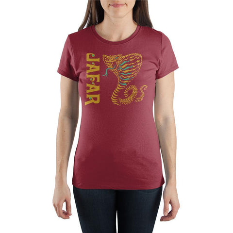 Disney Aladdin Jafar Crew Neck Short-Sleeve T-Shirt