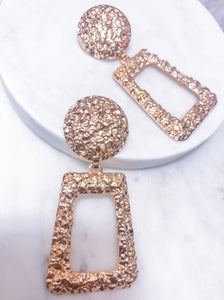 Textured Statement Earrings (Free Shipping, Code: SHINE)