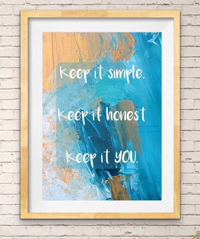 'Keep it YOU'