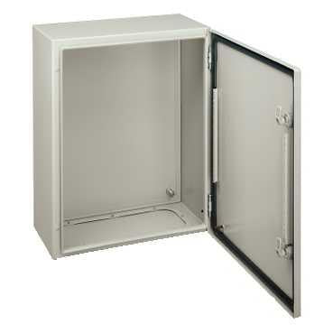 Alfanar Metal Enclosure Box IP65 500X400X200mm With Metal Plate - MBENERGY STOCK