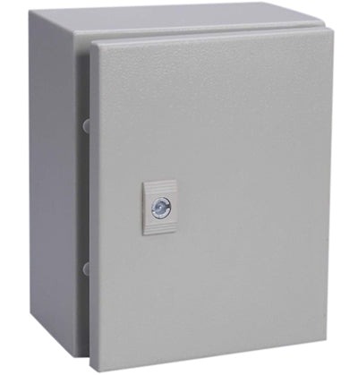 Alfanar Metal Enclosure Box IP65 600X400X200mm With Metal Plate - MBENERGY STOCK