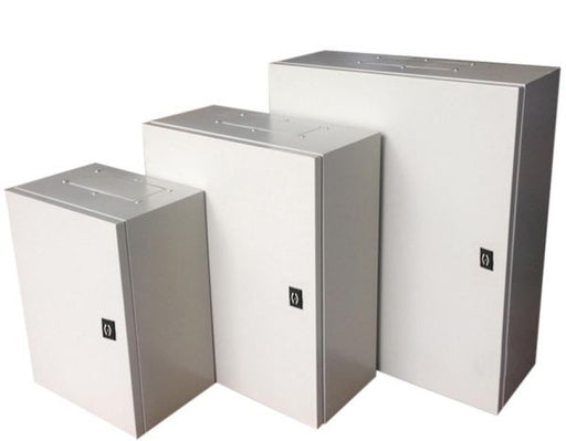 Alfanar Metal Enclosure Box IP65 800X600X300mm With Metal Plate - MBENERGY STOCK