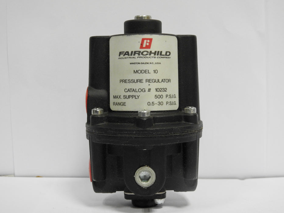Fairchild Pneumatic Pressure Regulator,0.5-30Psi - MBENERGY STOCK