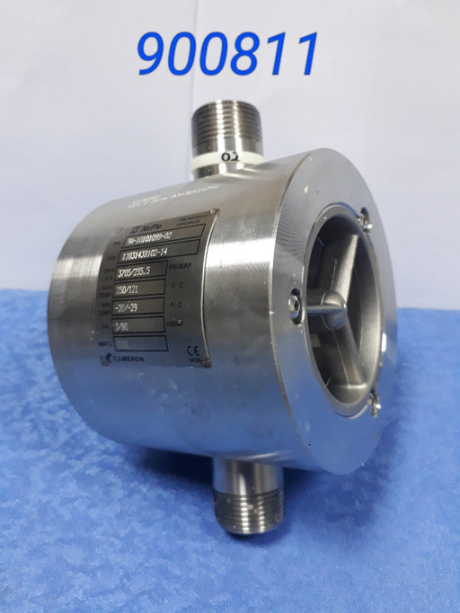 "Barton Flow Meter, Assy. Ped, Atex, 3"" X 3"", Ez-N, Bf, Ind, 2Pu @ 180 - MBENERGY STOCK"