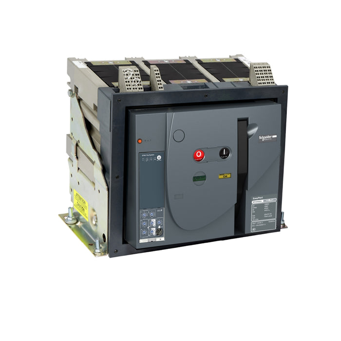 Schneider Air Circuit Breaker EP MVS10H3MF5L CB 1000A 65kA 3P MF ET5 Fixed Manual Circuit Breaker