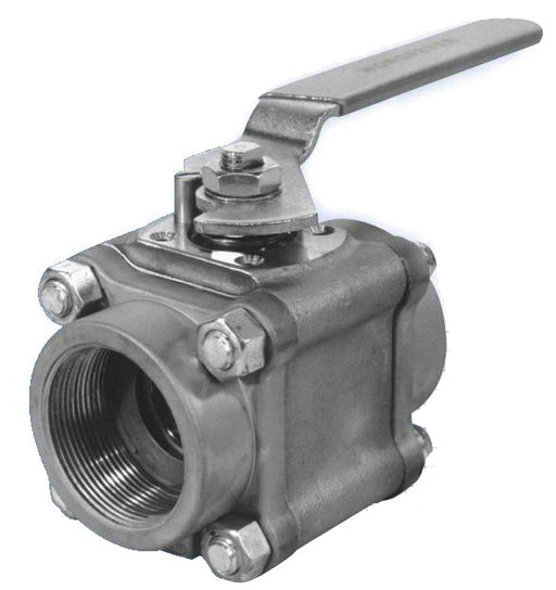 Worcester Ball Valve, (Model #: 1 4466Tse V58 R3), Cwp 1000, Max. Temp. 400F