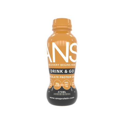 CHOCOLATE DRINK AND GO PROTEIN SHAKE - ANS Group's Online Shop