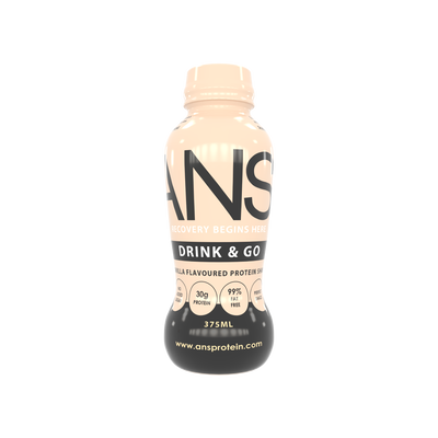 VANILLA DRINK AND GO PROTEIN SHAKE - ANS Group's Online Shop