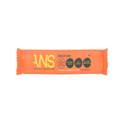DARK CHOCOLATE & ORANGE PROTEIN BAR - ANS Group's Online Shop