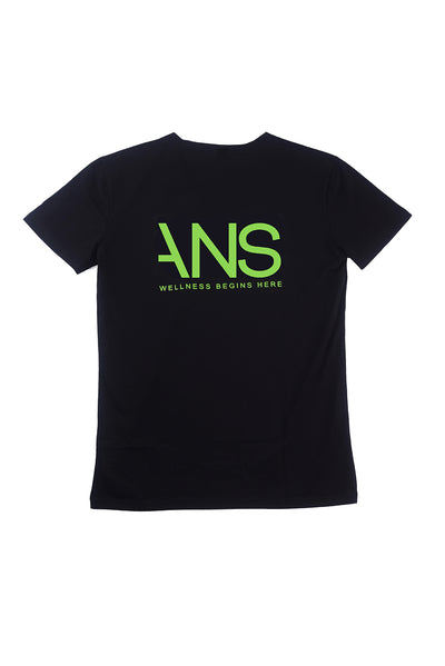 ANS Black T-Shirt - ANS Group's Online Shop