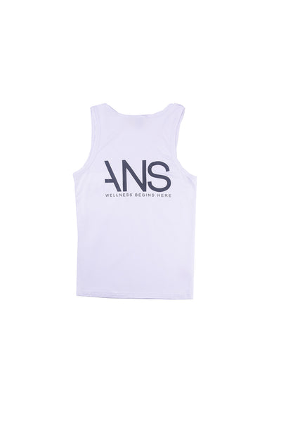 ANS White Tank Top - ANS Group's Online Shop