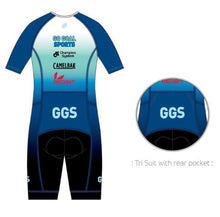 Triathlon - Aero Lite Trisuit (2019 Racing Blue - Team Edition)
