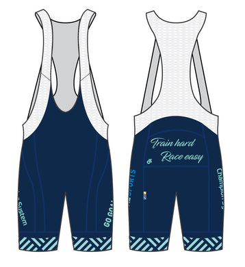 Cycling - Apex bib short (2020 Blue)
