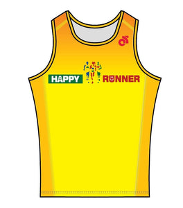 Men's Apex Run Singlet (Yellow)