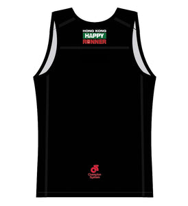 Men's Apex Run Singlet (Black)