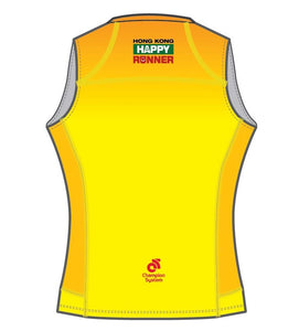 Women's Apex Run Singlet (Yellow)