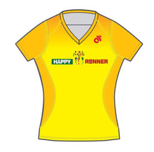 Women's Apex Run Top (Yellow)