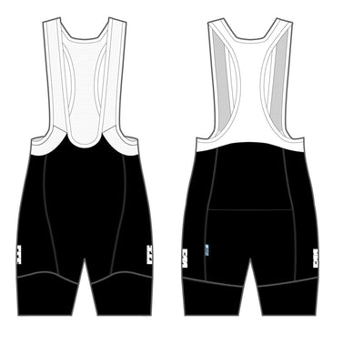 Adult Bib Short -  GGS Black