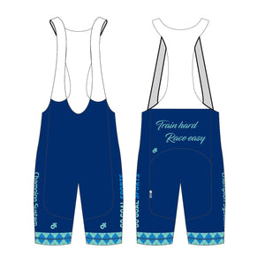Cycling - Child Bib short (Blue / Pink)