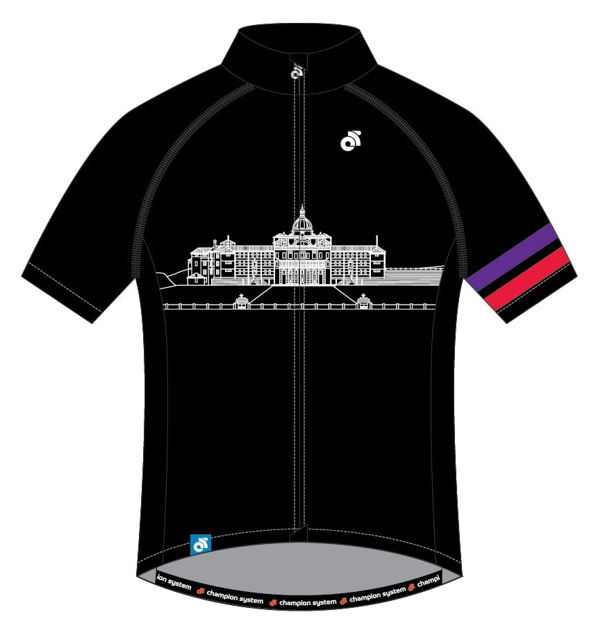 Short Sleeve Tech Summer Jersey (Black design)