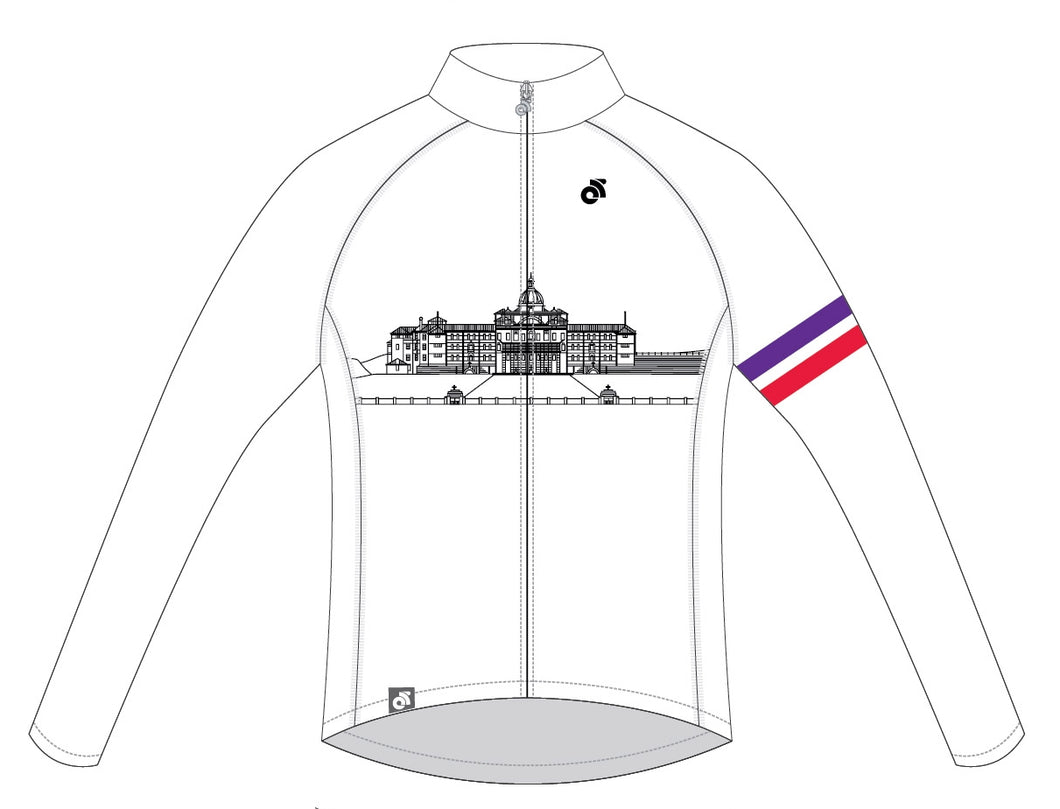 Long Sleeve Tech Summer Jersey (White design)