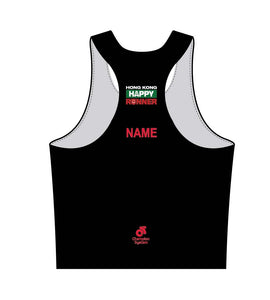 Men's Apex Marathon Singlet (Black)
