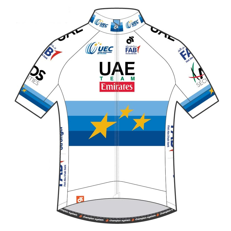 UAE Team Emirates - European Champion Jersey