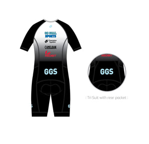 Triathlon - Aero Lite Trisuit (2019 Racing Black - Team Edition)
