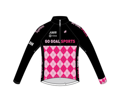 Cycling - Tech Wind Jacket (Blue / Pink)