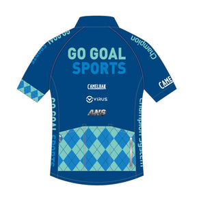 Cycling - Performance Summer jersey (Blue / Pink)