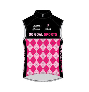 Cycling - Tech Wing Vest (Blue / Pink)
