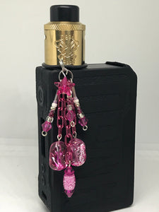Hot pink Vape dangle jewelry
