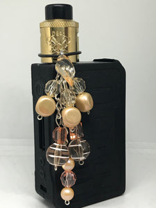 Peaches & Cream Vape dangle jewelry
