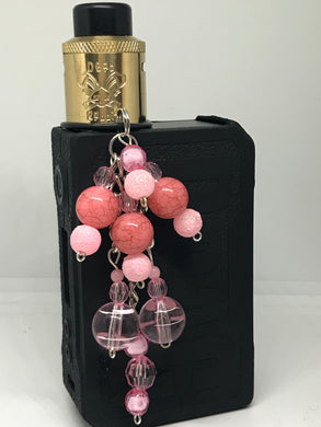 Light pink Vape dangle jewelry