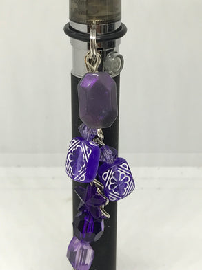 Purple Vape Pen Dangle ~ Jewelry