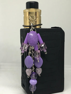Lavender Vape dangle jewelry