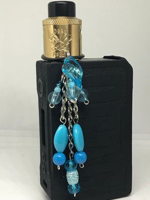 Baby Blue Vape dangle jewelry